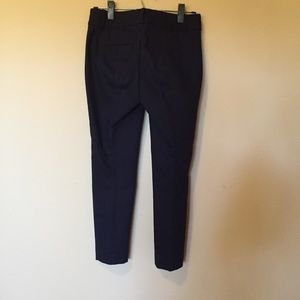 LOFT Pants - LOFT navy blue Julie skinny dress pant
